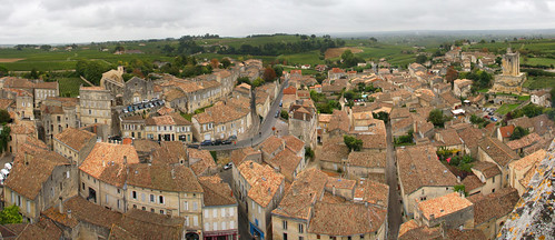 Saint Emilion Bell Tower Panorama