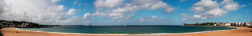 St. Jean de Luz Beach Panorama