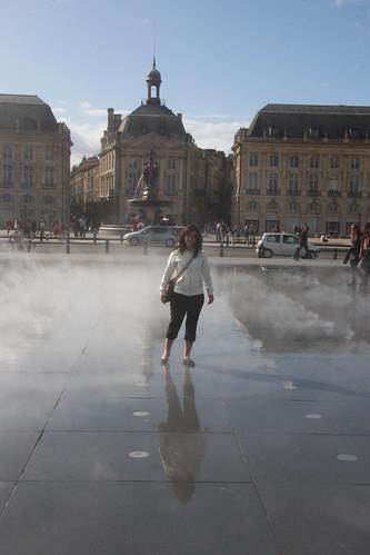 Marga in the mist