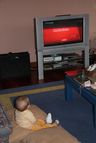 Sitting Up, Watching TV