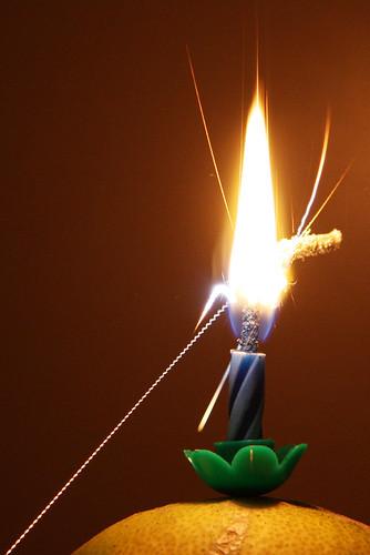 Sparkler Projectiles