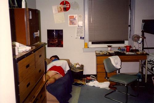 Roommate Tim in Room 206