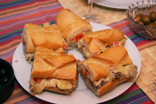 Philly Cheese Steak Sandwiches
