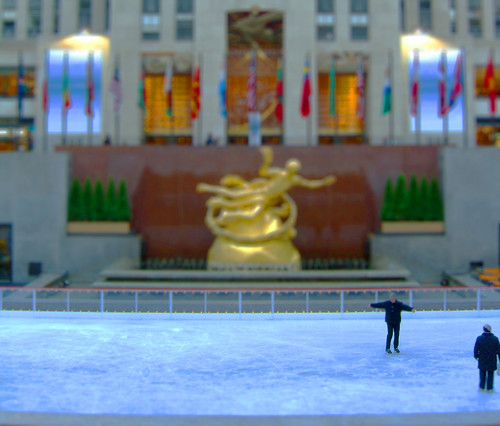 Rockefeller Center Tilt-Shift