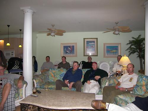 Super Bowl Party 2010