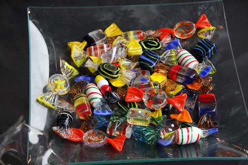Glass Candies (made entirely of glass)