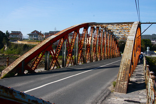 Iron Bridge in Colindres