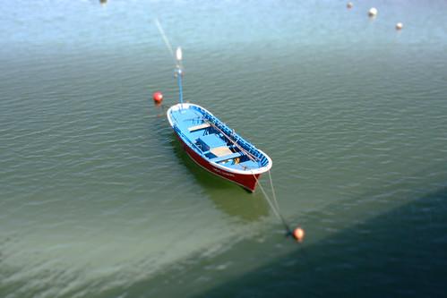 Boat on the Ria Asón