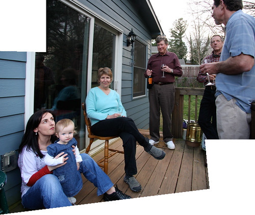 Nora's Birthday Party Panorama