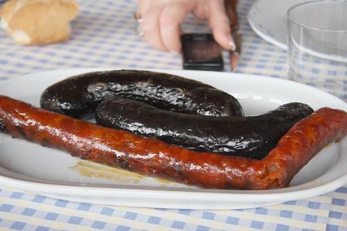 Chorizo and Morcilla