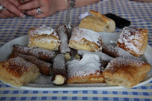 Dessert at Bodega Pimiento