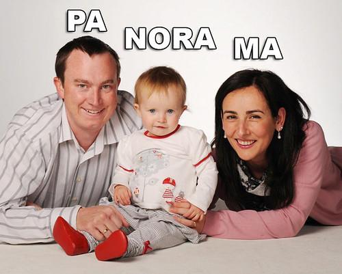 Erik, Marga and Nora