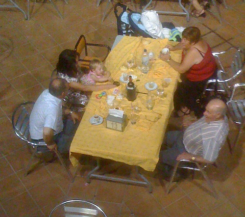 Dining out at El Cruce (Hotel Trajano)