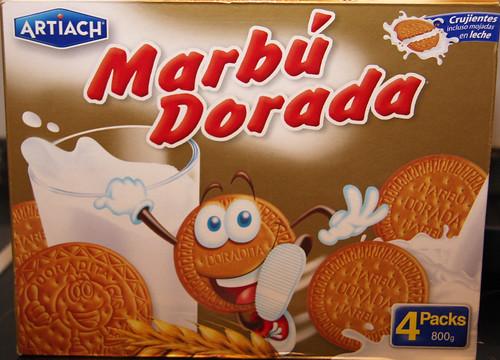 Marbíº Dorada box