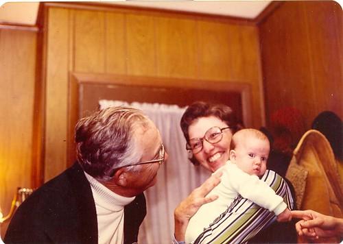Little Erik and his Grandparents