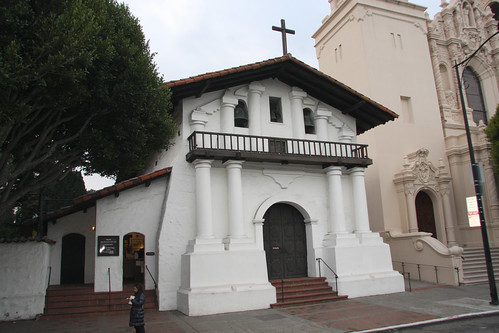 San Francisco Mission Dolores, First Building in San Francisco
