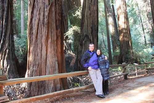 Muir Woods - Redwoods, Marga and Erik