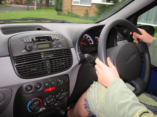 Steering Wheel on Wrong Side