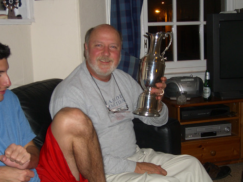 Jeff and the claret jug