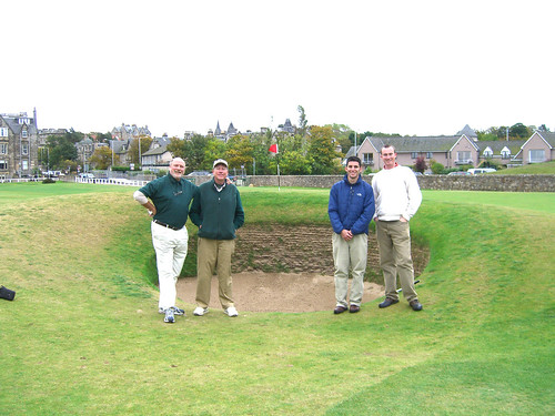 Foursome and the Road Hole Bunker