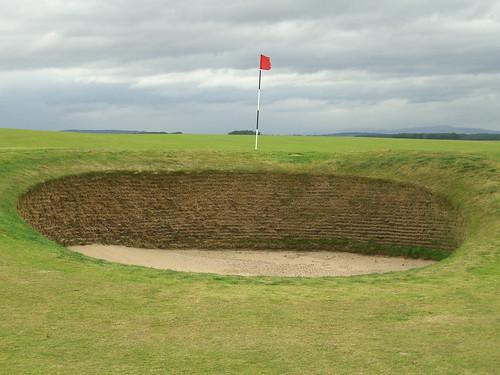 Bunker on The Old Course, St. Andrews