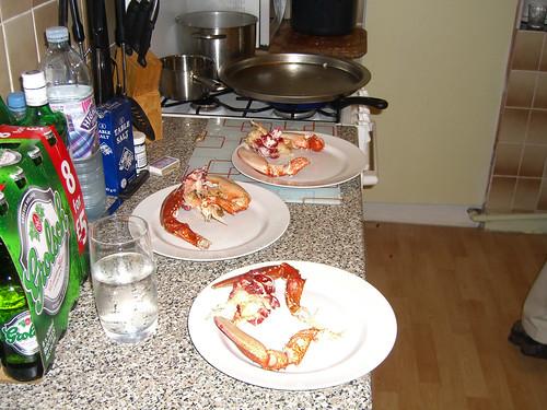 Mmmm! Lobster!
