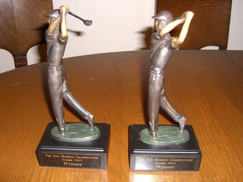 Tom Morris Championship Trophies