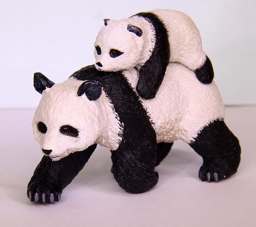 Momma Panda and Baby Panda