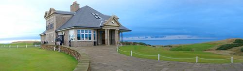 Kingsbarns Clubhouse Panorama
