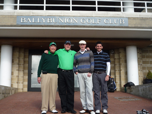 Friends at Ballybunion