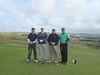 Four Golfers