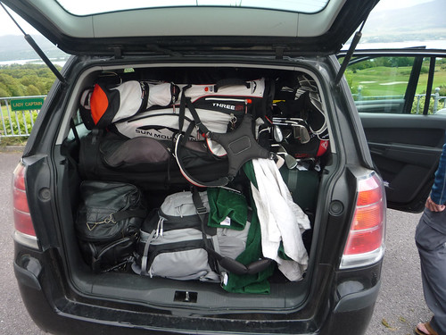 Packed Car