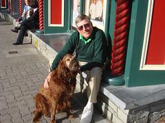 Paul makes another Irish friend