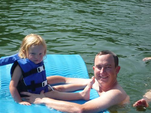 Nora in Lake James