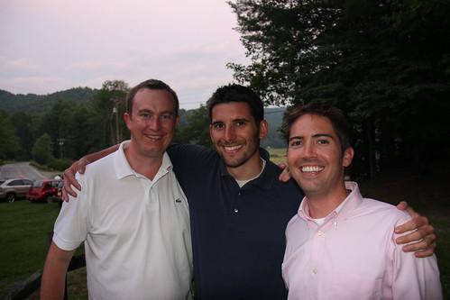Three lifelong friends