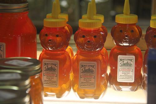 Underlit Honey Bears