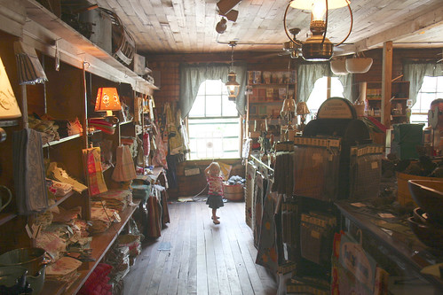Nora in Mast General Store