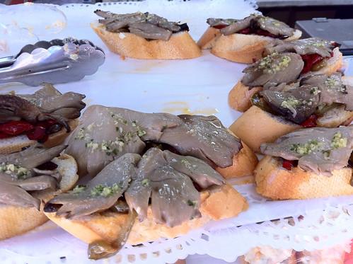 Oyster Mushroom Tapas