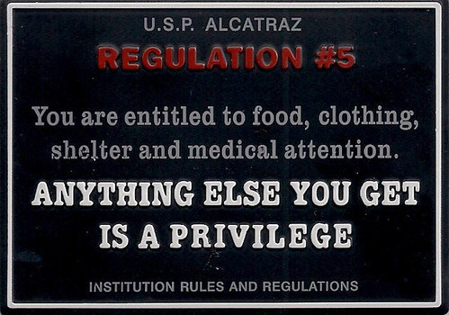 Alcatraz Magnet - Regulation #5
