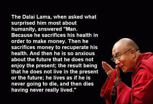 Dalai Lama Being Silly