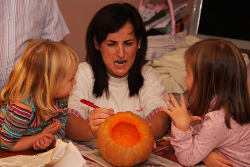 Pumpkin Carving with Carmen
