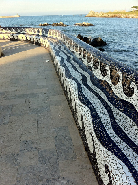 Tiles in Castro Urdiales