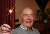 Abuelo with Sparkler