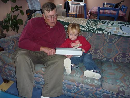 Using Grandpa's iPad