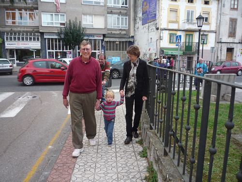 Walking with grandparents