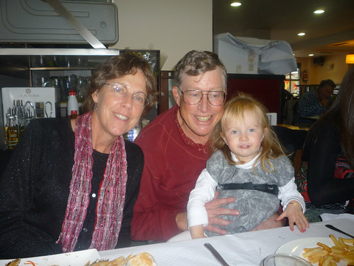 Nora and her Grandparents
