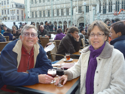 Paul and Betsy in Brussels