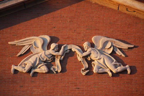 Angels on Colindres Church