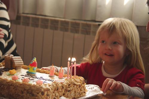 Nora's Third Birthday Cake