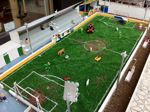 Miniature Soccer Field - Colindres, San Juan